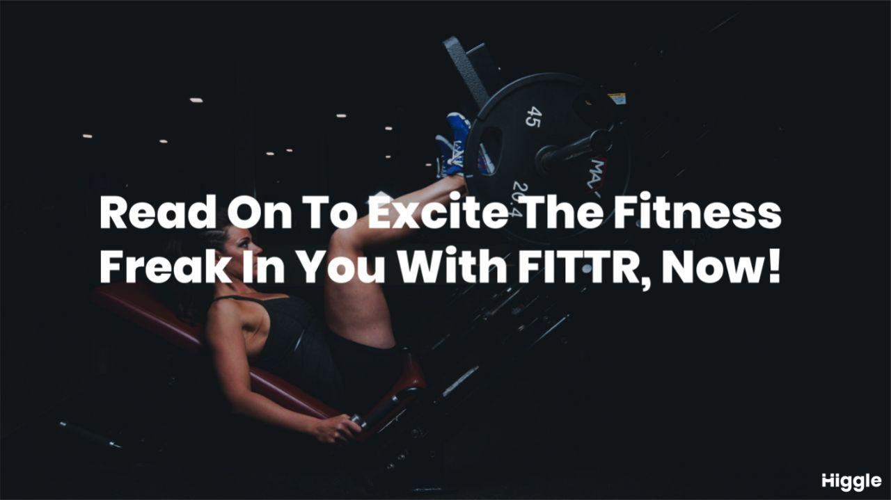 fittr fitness startup